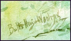 Signature lower left corner.